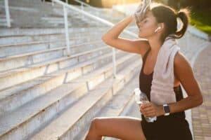 Sporters natuurlijke supplementen
