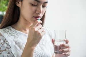 Aanvullen van een ijzertekort met supplementen