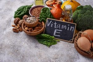 Vitamine E supplementen en voeding