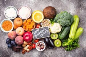 Het eten van vezelrijke voeding zorgt voor een lage glycemische index