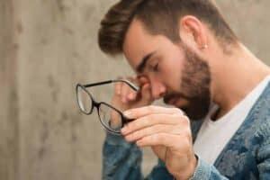 Een vitaminetekort leidt tot droge ogen