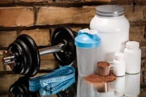 Creatine en eiwitten voor fitness