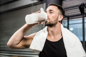 Voedingssupplementen met eiwitten