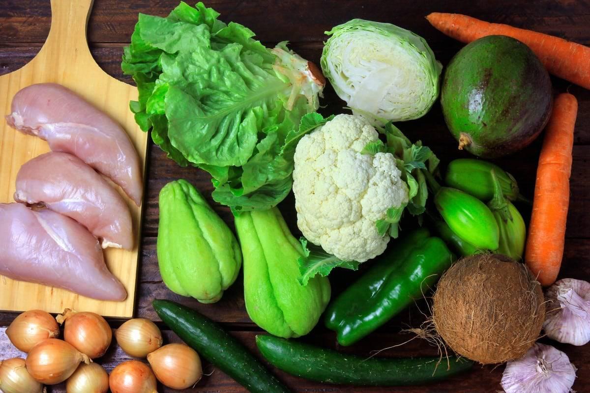 Een dieet met koolhydraatarme voedingsmiddelen