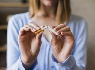 De negatieve effecten van roken op een gezond lichaam