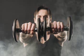 Sterke spieren met testosteron