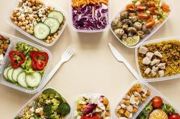 Gebalanceerd dieet voedingsstoffen