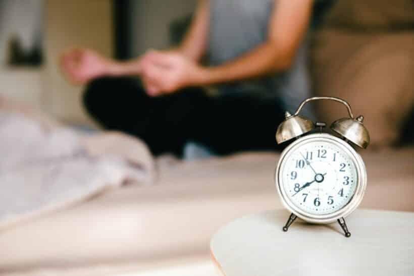 Slaap meditatie diepe nachtrust