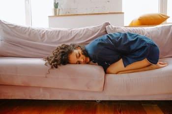 buikkramp koorts ziek