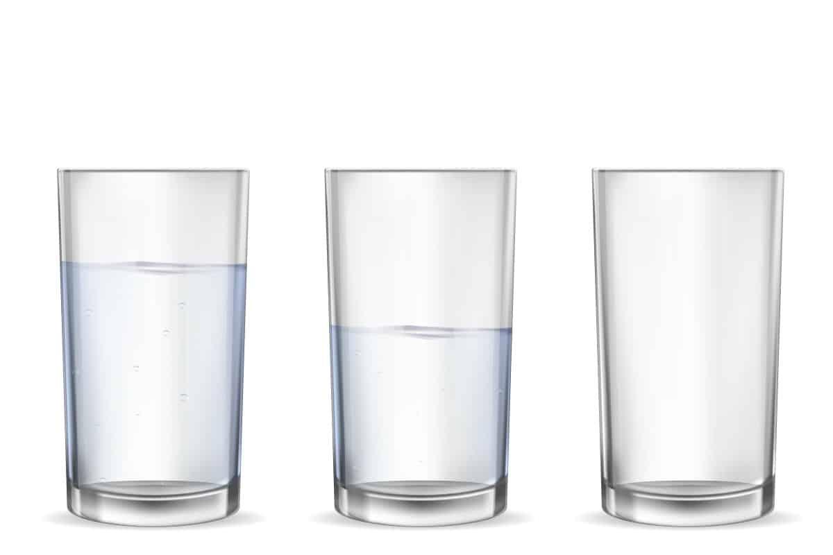 Water drinken senioren