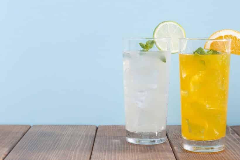 Verfrissende drank maken