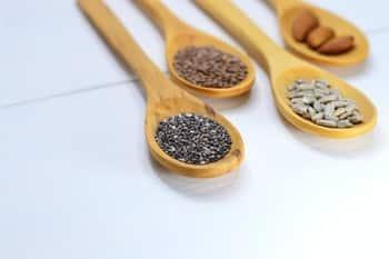 vitamine e olie zaden