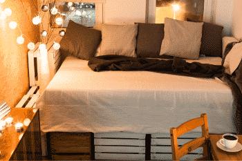 comfortabel bed