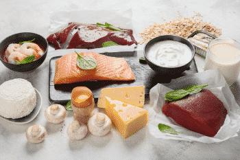 vitamine B12 waarde dierlijke producten