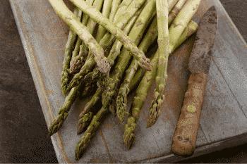 vochtafdrijvende voedingsmiddelen asperges