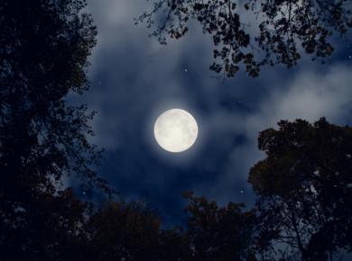 volle maan en slecht slapen