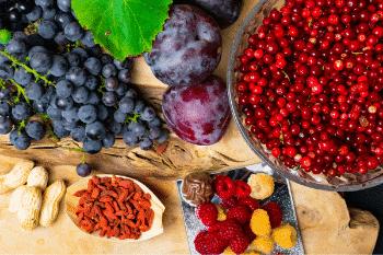Resveratrol groente en fruit