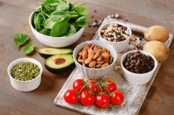 kaliumrijke voeding veel groente en fruit