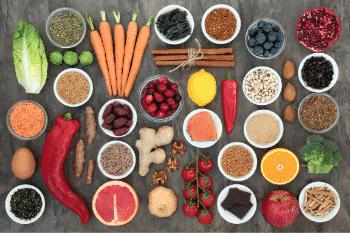 onbewerkte producten zijn veel gezonder