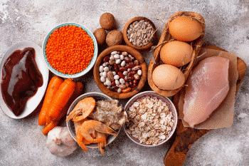 peulvruchten en zaden bevatten zink
