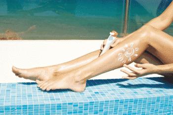 zonnebrandcrème beschermt tegen de zon