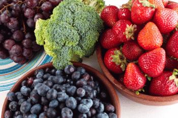 antioxidanten zitten ook in groenten en fruit