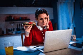 eten voor het slapen controversieel