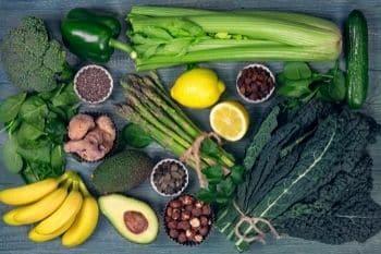 groenten bevatten veel basen