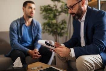 praten met een professional kan helpen