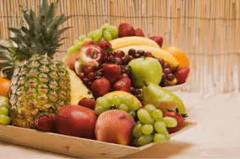 verse vruchten bevatten geen zout
