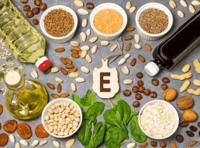 vitamine E capsules