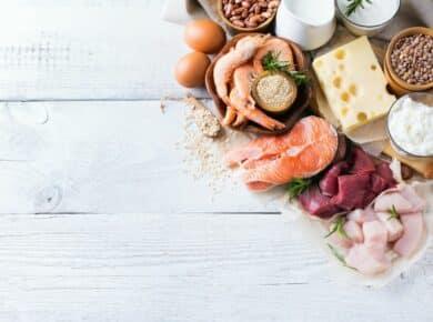 voeding met veel eiwitten